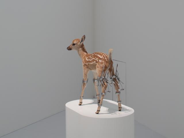 whoinspiresme :     Odani Motohiko -  Erectro (Bambi) , 2003
