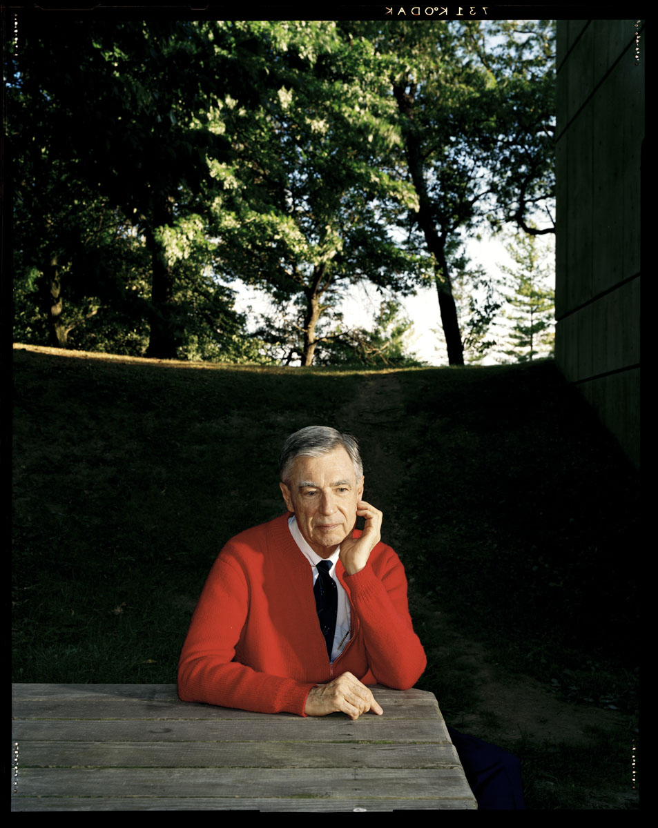 "notyourlovver: isthatfine: im: barnacling: racketstory: cumaeansibyl: suicideblonde: Today would have been Mr Rogers' 84th birthday. Thanks for showing me how to rock a cardigan and always been a kind neighbor. true story: one time some dudes stole mr. rogers's car, and it got into the news, like you'd expect the next day the car was back where he'd left it with a note that said ""we're so sorry, we never would've taken it if we'd known it was yours"" I like to think they recognized this as a sign from god and turned their lives around another true story: mr. rogers lobbied in favor of vcrs back when the tv and movie industries were against them, because he wanted families to be able to record shows and watch them together he was always, always thinking about children, letting them know it's okay to be sad or scared or mad and how to deal with it, letting them know there's at least one person in the world who loves them just the way they are and no matter who you were, no matter why you crossed his path, he wanted to know about your life and understand you and be your friend I believe he is a for-real saint and I wish I could be more like him but it's okay, I know he loves me just the way I am Another true story: one time he received a letter from a blind girl who mentioned that she gets nervous sometimes that he'd forget to feed the fish. From that moment on, he made some comment outloud about how he was feeding the fish so she and any other blind viewers would know that he hadn't forgotten. Always reblog Mr. Rogers. i'm actually crying you don't understand another true story: most of the sweaters he wore in his show were made by his mom. too cute ANOTHER TRUE STORY: I CRIED ALL DAY WHEN HE DIED"