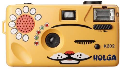 Orange Nya-Nya Cat 35mm Camera this is so cute. i want one.