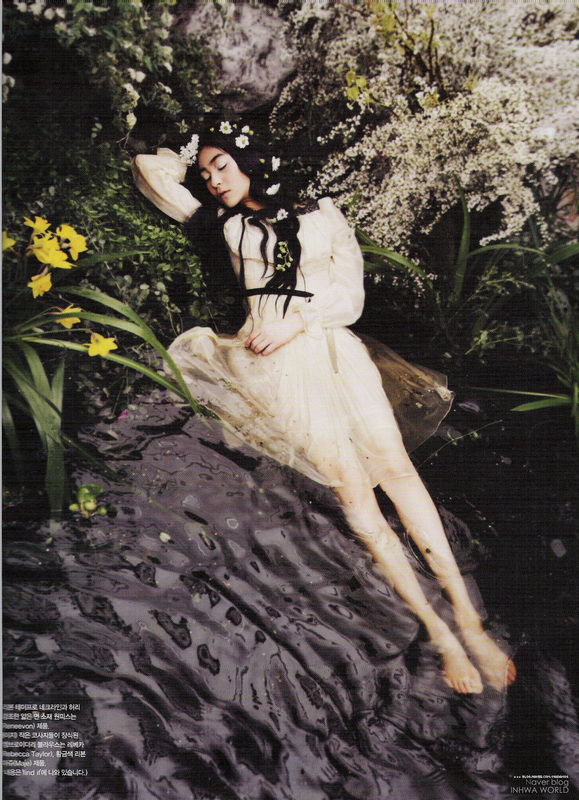babydeer :      marshmallowphantom :      poisoned-apple :   - Ophelia (Vogue Korea)