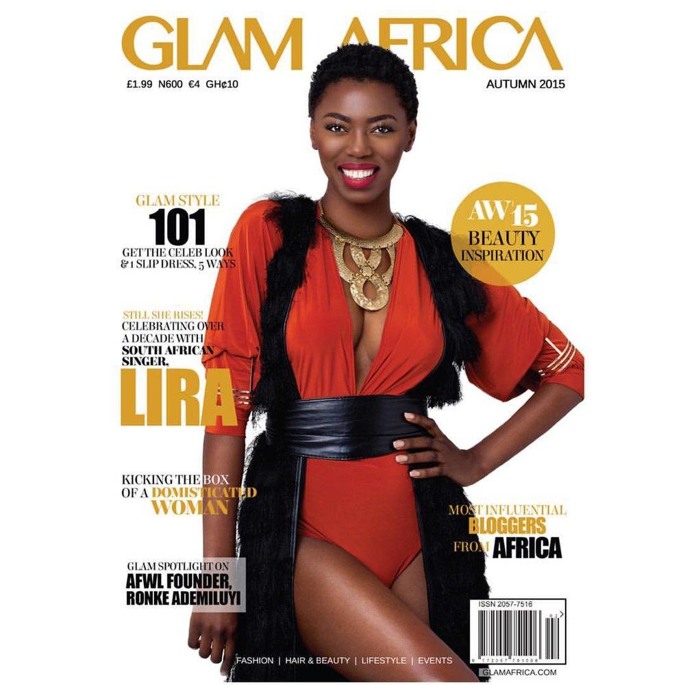 Lira for GlamAfrica Magazine