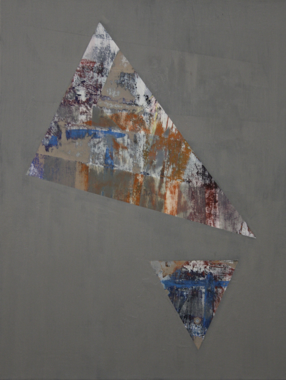 Degrees of Separation 5, 2010 - 12, oil on canvas, 56 x 43 cm