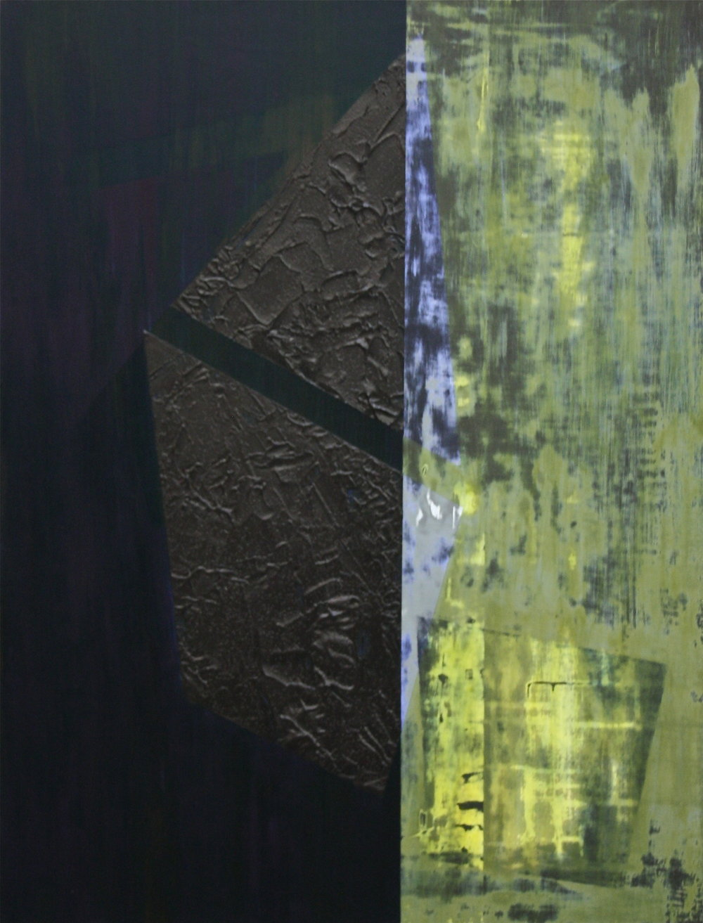 Untitled, 2011, oil and acrylic on canvas 84 x 64cm