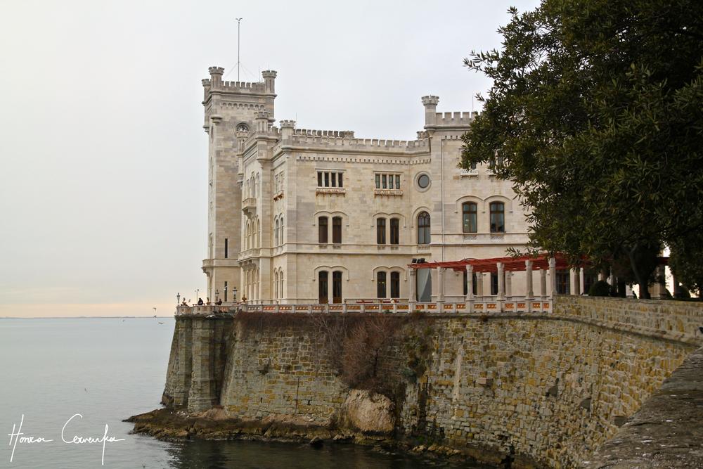 Castello di Miramare, Italy, 2013