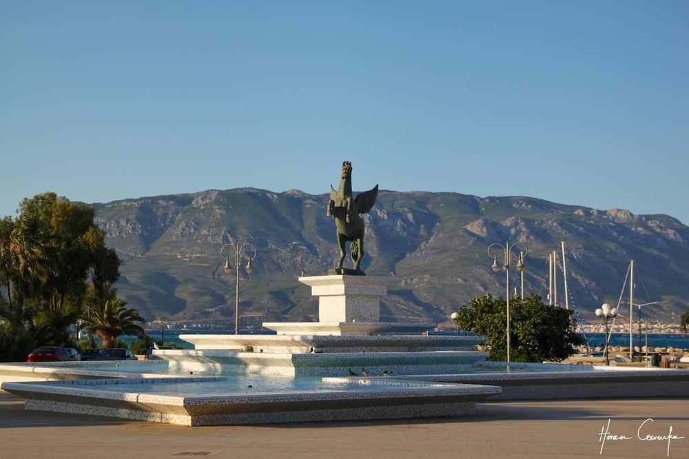 Corinth - a monument