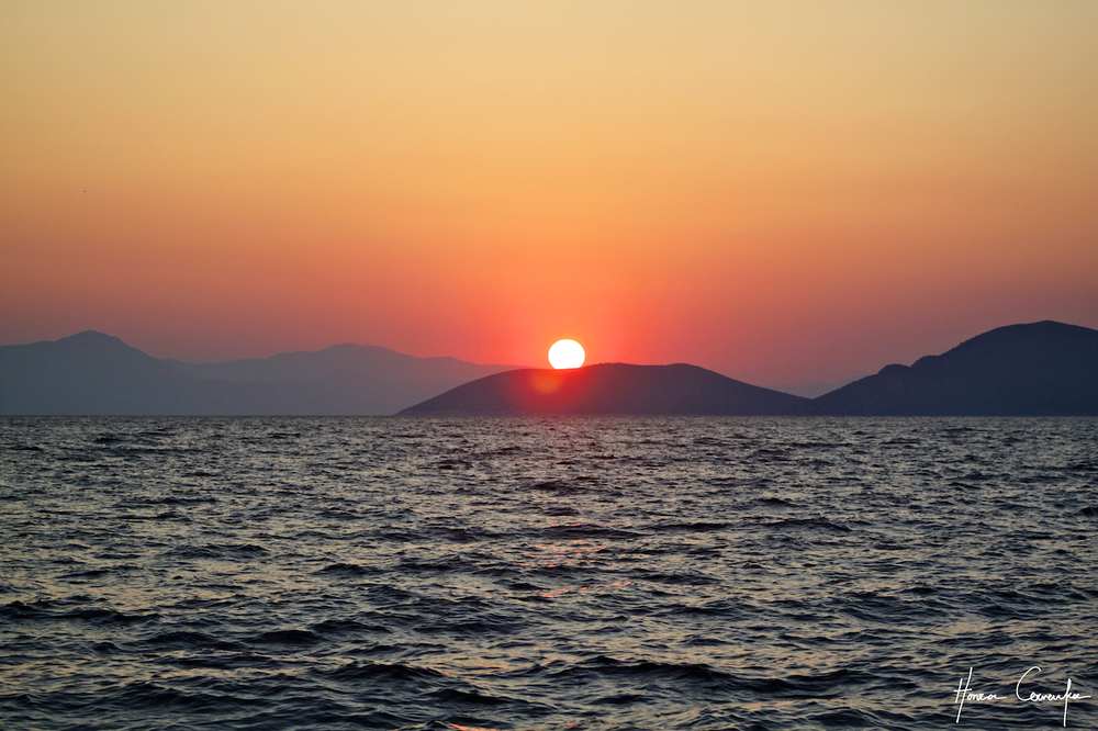 Can't beat Greek sunsets!