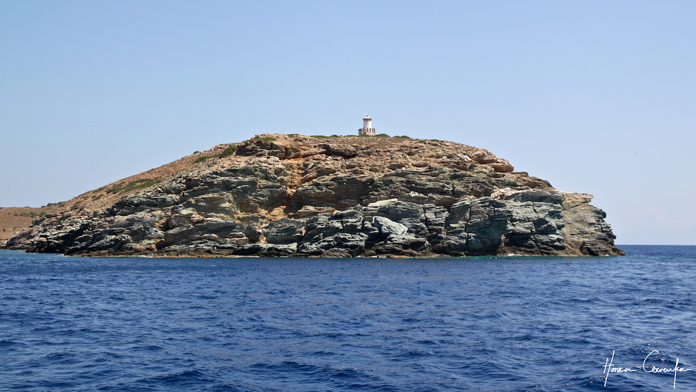 One of countless romantic lighthouses in Greece