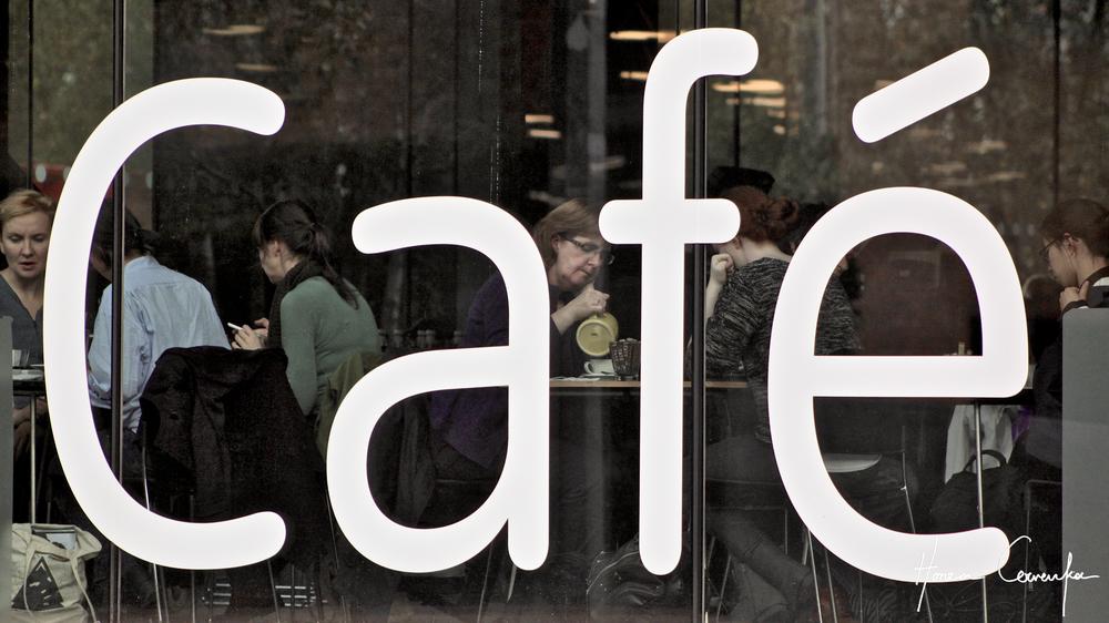 Tate Modern Café, London, England, 2014