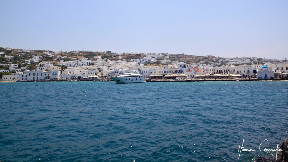Old port in Mykonos