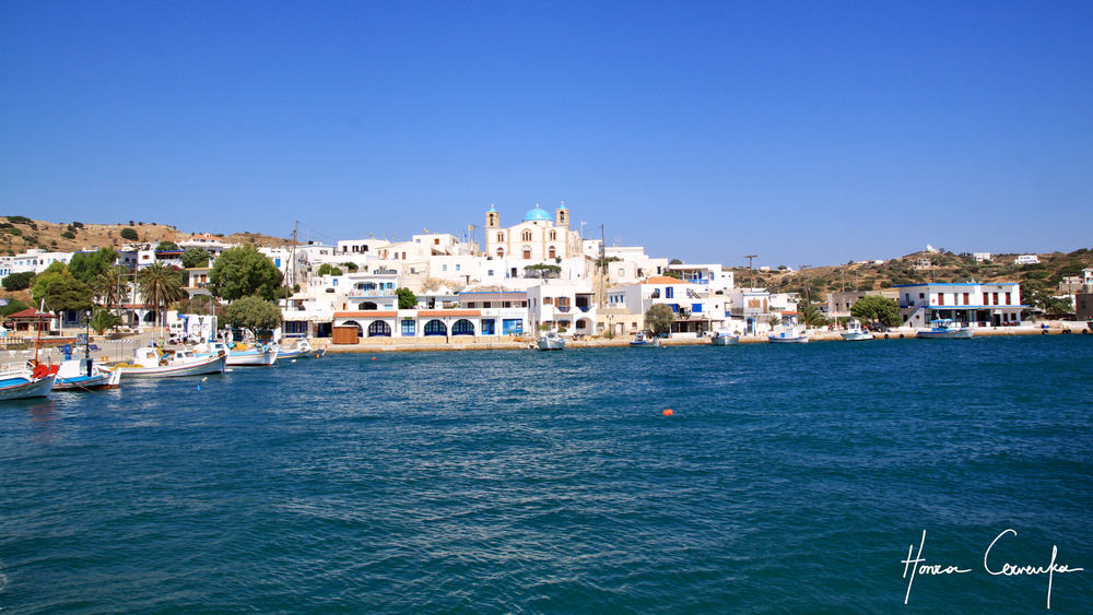 View of Lipso from the harbour