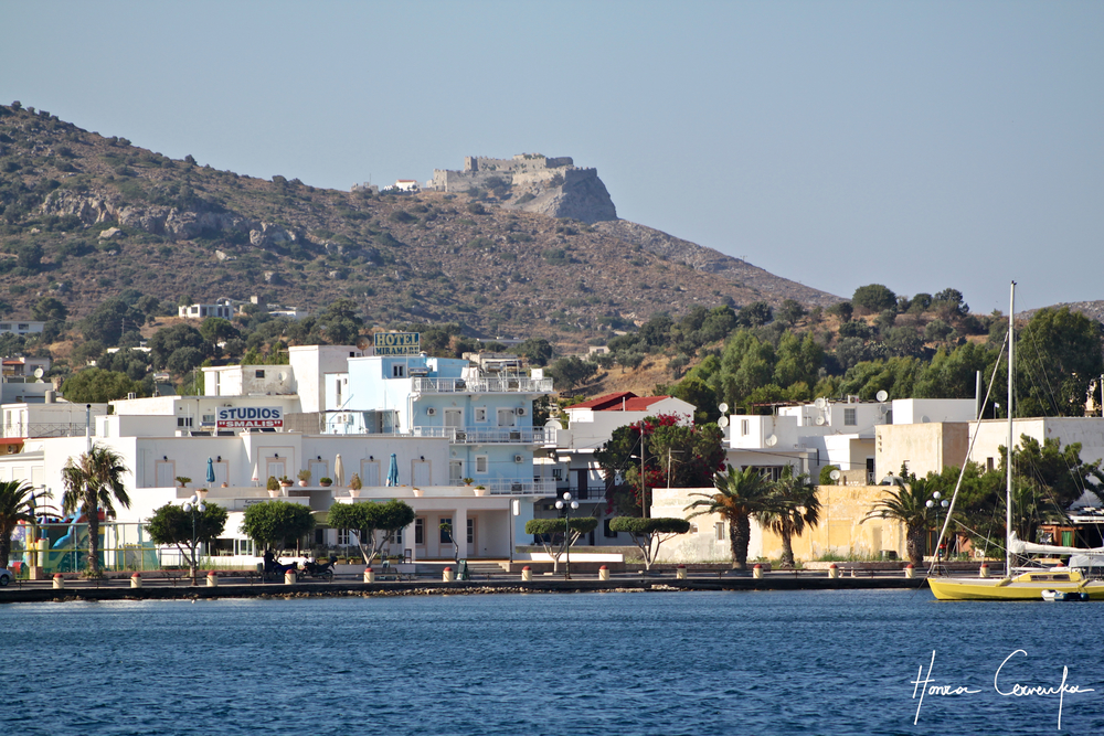 Lakki with the fortress in the distance