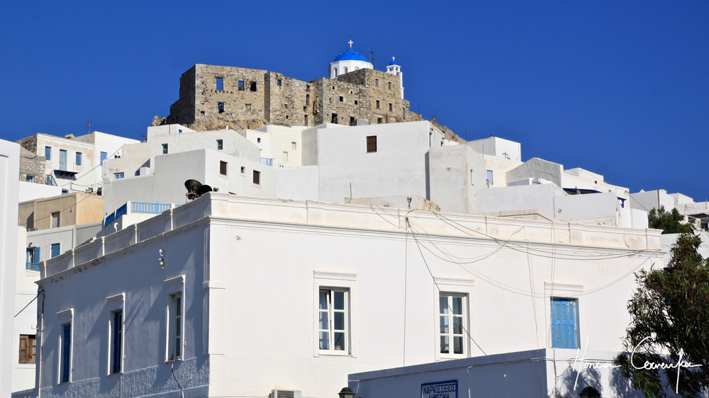Chora and the castle.
