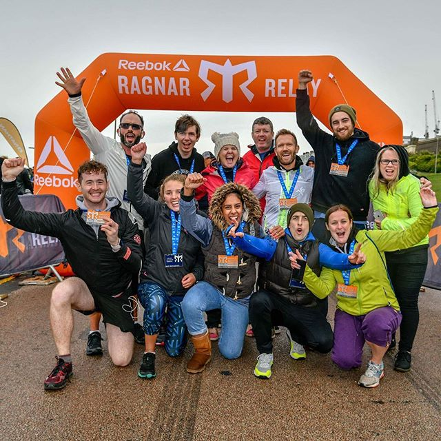 Now that I've semi-recovered, I think it's time to post the best of our crazy 170-mile team relay race last weekend.  I ran with a team of 10 from CrossFit Maidenhead and it was a blast!  Couldn't have done it with any other group of people.  We were split in two cans of five runners and ran three legs each, day and night.  Mine totalled around 16 miles, in terrain around the beautiful south east English coast.  I think we are all signed up to do it again next year, legs permitting!