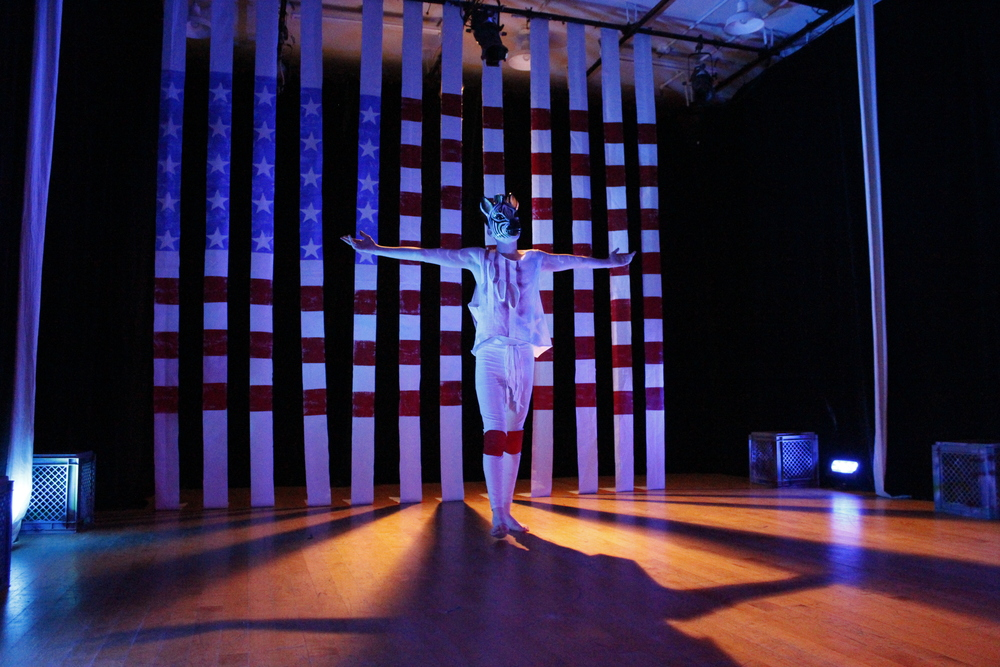 Who Will Survive In America, created, directed, and choreographed by Alexa Andreas