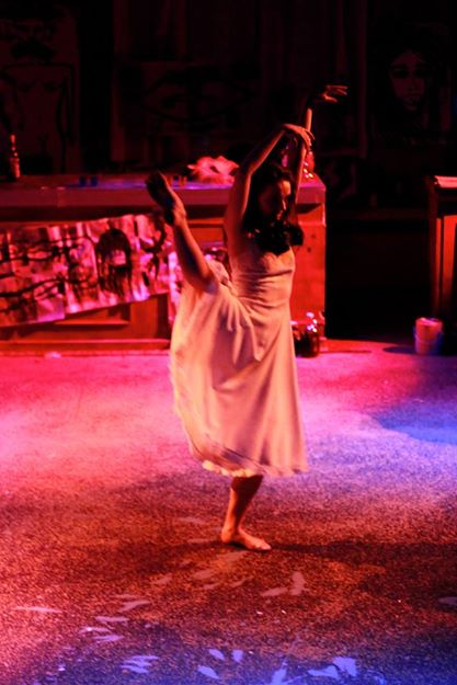 Strange Weather, created, directed, and choreographed by Alexa Andreas