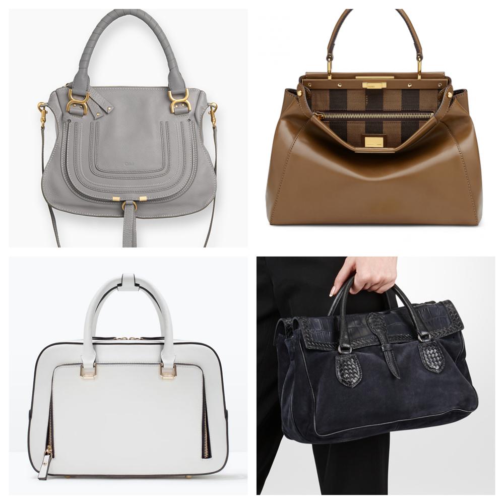 Classic... Chloe ,  Fendi ,  Zara ,  Bottega Veneta