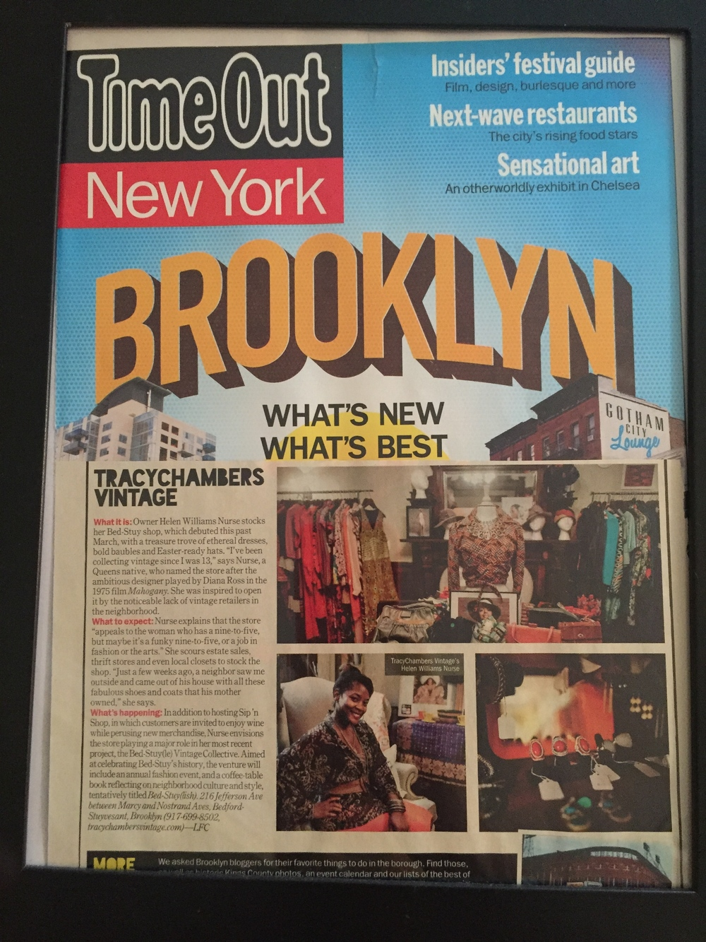 Time Out NY Best of Brooklyn 2013