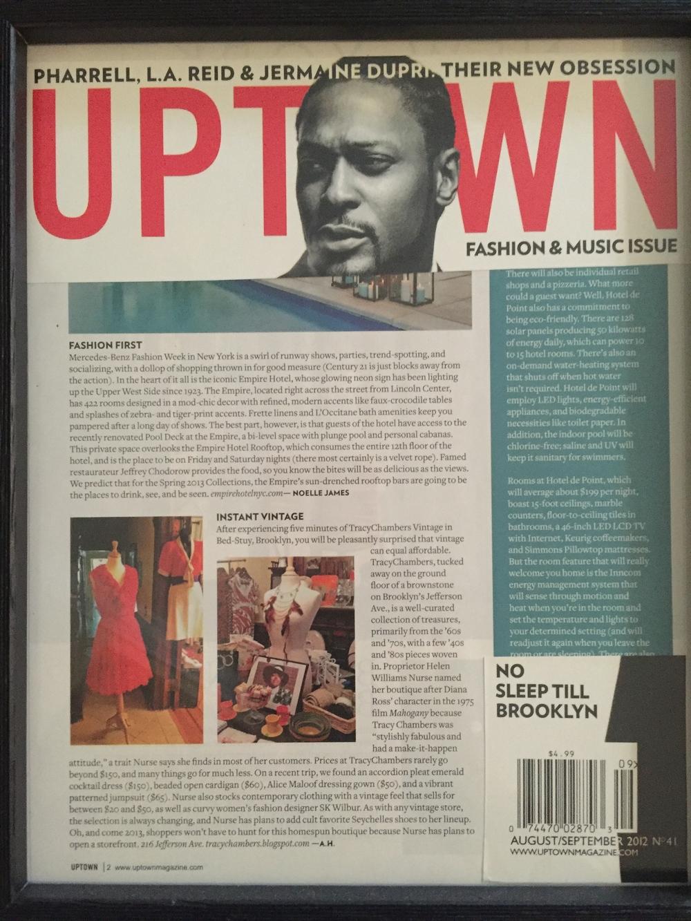Uptown Magazine 2012
