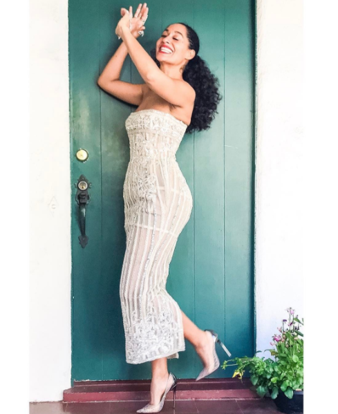 Ms. Tracee in  Zuhair Murad  Couture...she can do no wrong! (@traceeellisross via instagram image)
