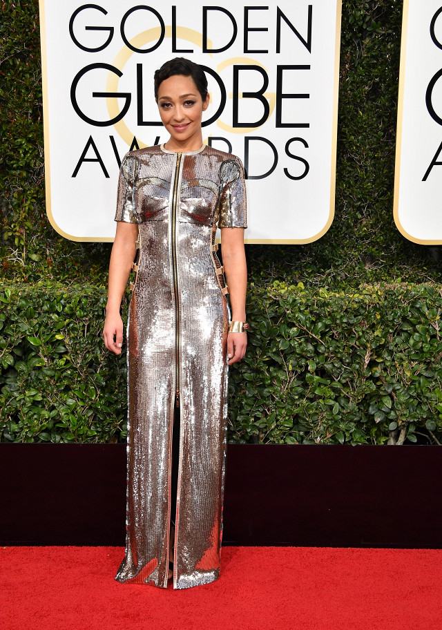 Ruth Negga in Louis Vuitton...stunning! (getty image)
