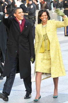 Where it all began! I was floored when I saw her in this Isabel Toledo ensemble during the first inauguration.