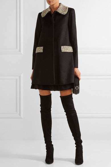 Alice+Olivia Iris coat...so sexy and fancy