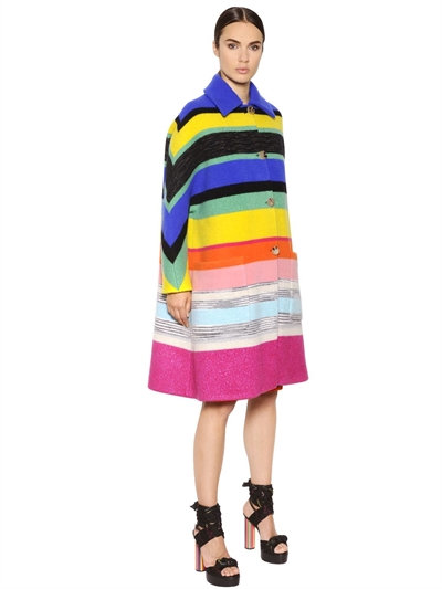 How fun is this Missoni coat...heads would turn...heads would turn!