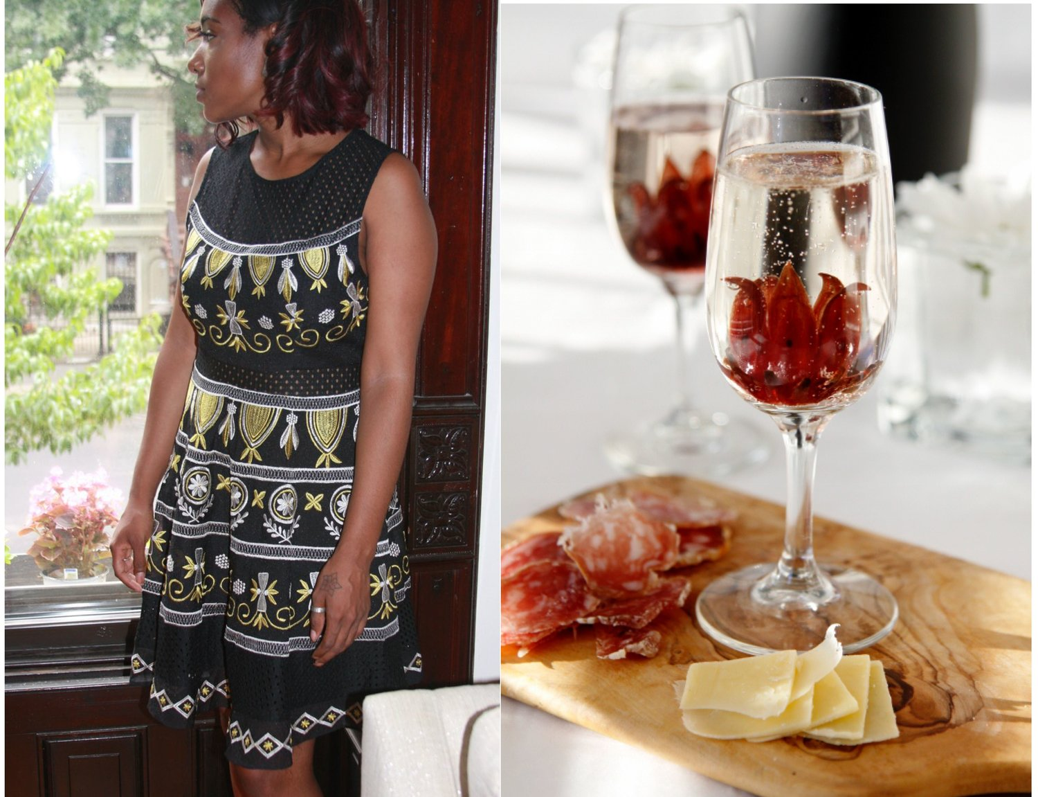 Brunching With Florals Tracychambers Vintage