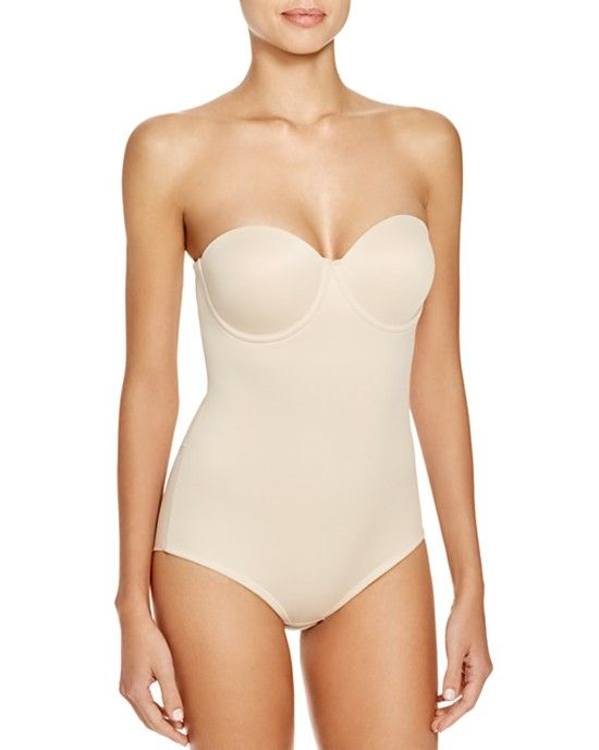 This one piece from Her Room is great for strapless or thin straps.