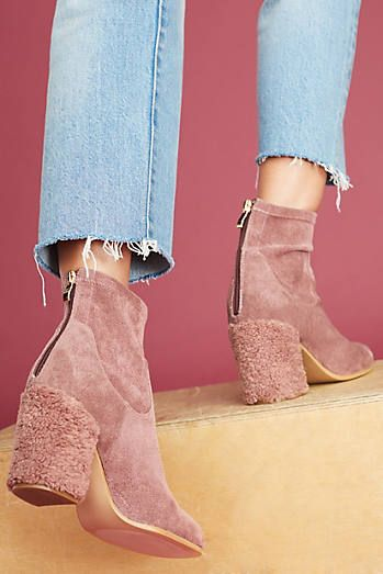 Antropologie Silent D Wowser Booties