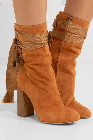 Chloe Harper Suede Ankle Boots