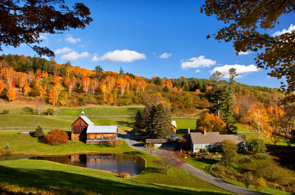 Woodstock, VT (photo via Country Living)