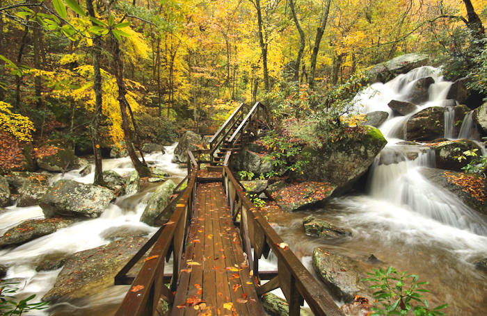 South Mountains State Park, Asheville, NC (photo via RomanticAsheville.com)