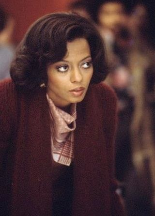 Diana Ross as Tracy Chambers in Mahogany. My favorite fall color...I always look forward to adding burgundy hues to my wardrobe every September and this sweater is perfect.