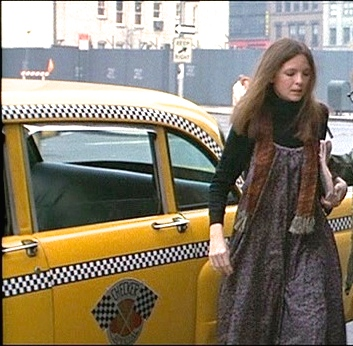 Diane Keeton in Annie Hall. I love how she paired the same turtle neck with a summer dress for a perfect fall transition.