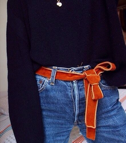 This ribbon as a belt is a great way to get just the right color you need as an accent.