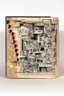 Fun Hight: What can be done from old Books Totally cool. (reblogged)