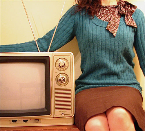 Beautiful Picture    peterwknox :        just me and my TV  (via  georgia.g )