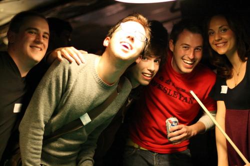 Marco , Amir , David , Jake , Erin .
