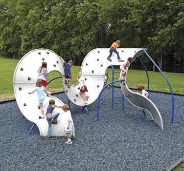 Cool.  I wish they had these when I was a kid and wanted to climb things. Landscape Structures  And there is a video! (via notcot.org)