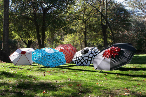decor8: Warp Weft Co. {patio umbrellas}