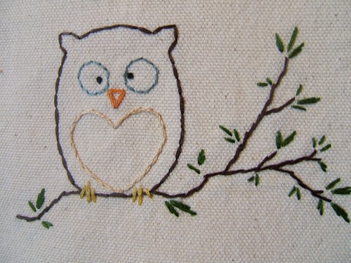 I also love confused owls. Etsy: diddledumpling