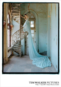 I love romantic artsy fashion shots. Tim Walker - Lily Spiral Staircase