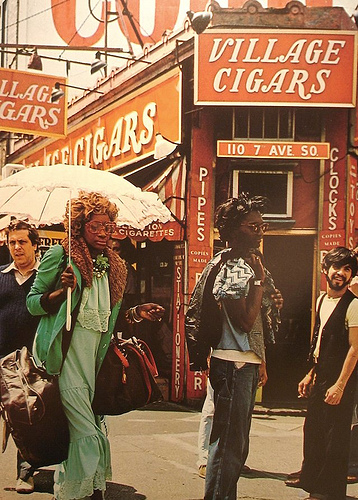 Greenwich Village, 1970  via