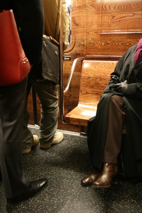 wooden subway