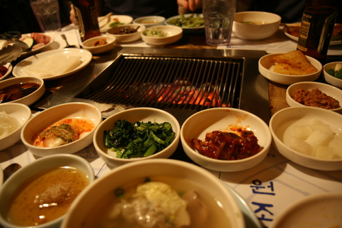 Korean BBQ with Tumblr.