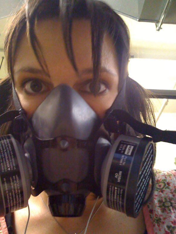 GPOYW. Working with toxic glue edition.