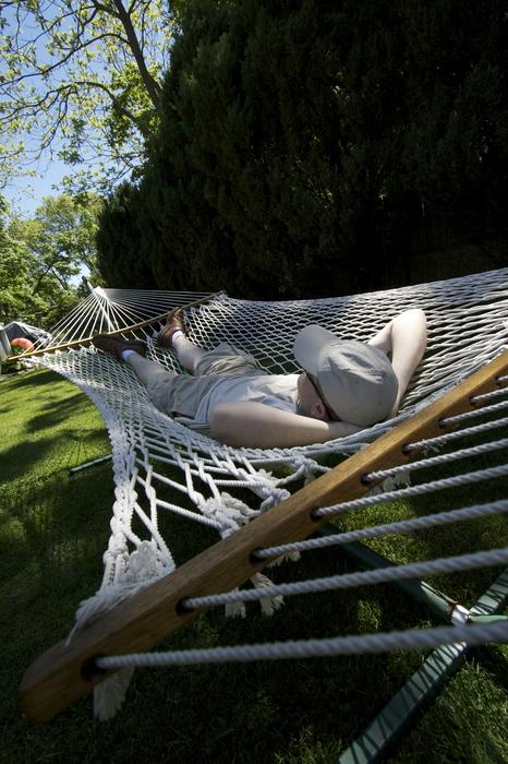 Marco still relaxing on Memorial Weekend.