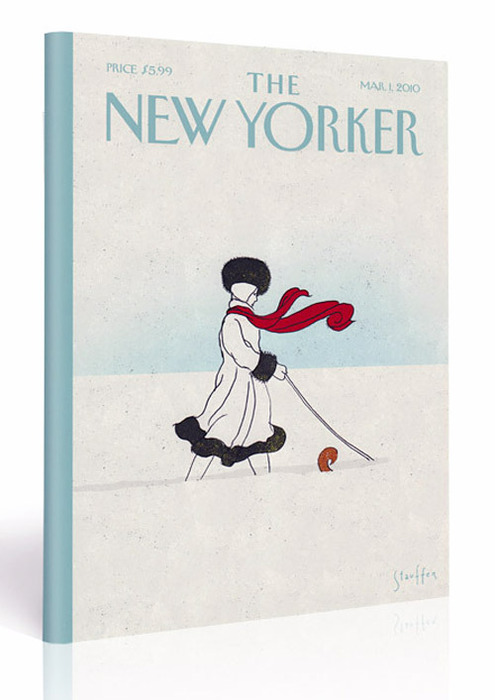 The New Yorker  ( via  nevver )   I would love to have a print of this cover.
