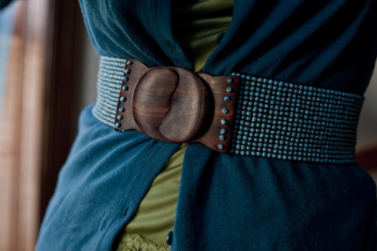 My favorite belt. (from Anthropologie)